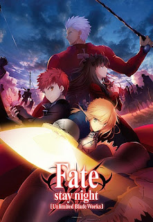 Fate Stay/Night: Unlimited Blade Works 1 e 2 Temporada HD - Todos os Episódios