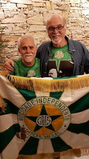 Paulo César Feital e Domenil Santos