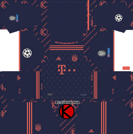 Fc Bayern Munich 2019 2020 Kit Dream League Soccer Kits Kuchalana