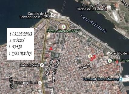 Tres curiosidades de la Habana Vieja