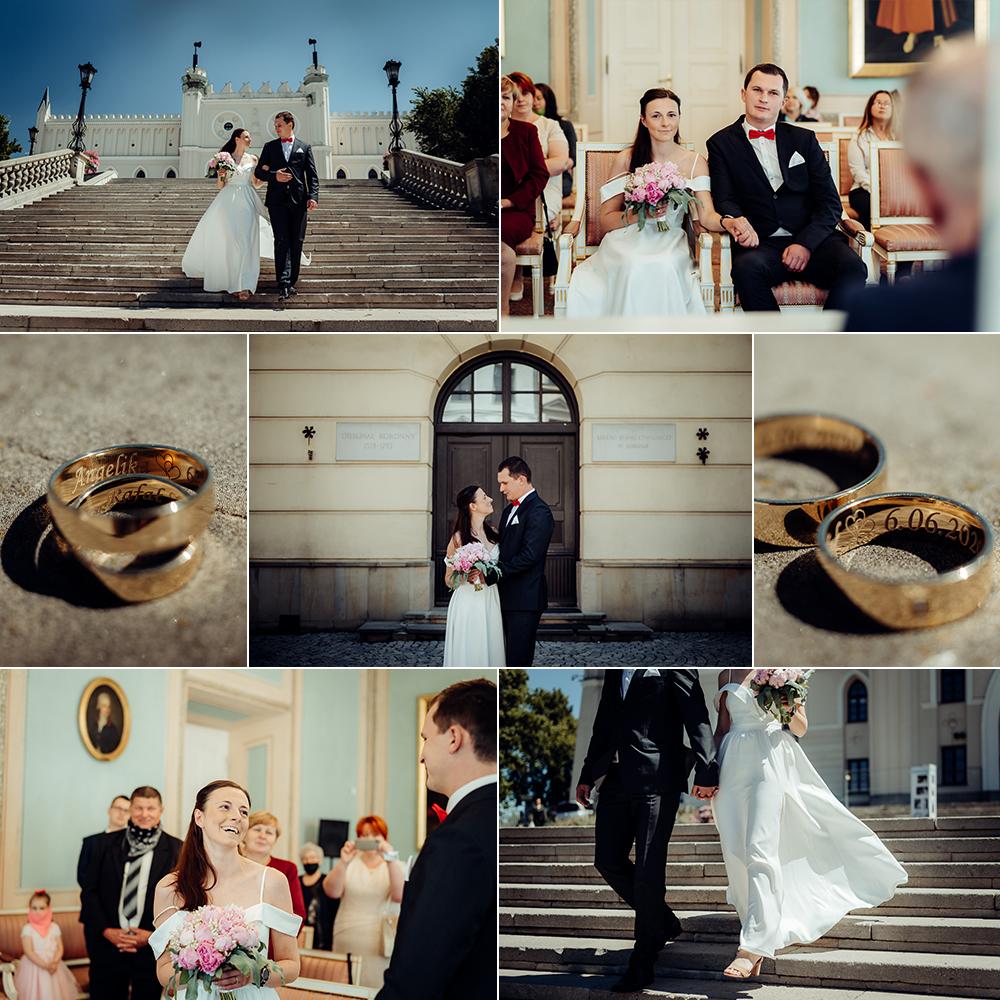 Angelika i Rafał - ślub cywilny w Lublinie | Fotograf Lublin