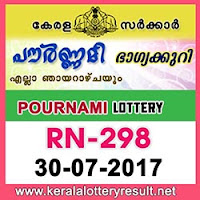 kl result yesterday,lottery results, lotteries results, keralalotteries, kerala lottery, keralalotteryresult, kerala lottery result, kerala lottery result live,   kerala lottery results, kerala lottery today, kerala lottery result today, kerala lottery results today, today kerala lottery result, kerala lottery result 30-  07-2017, pournami lottery rn 298, pournami lottery, pournami lottery today result, pournami lottery result yesterday, pournami lottery rn298,   pournami lottery 30.7.2017