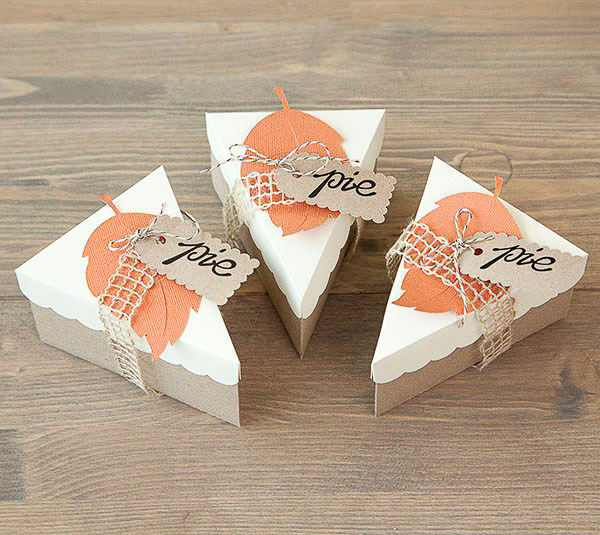 pie boxes made with cricut