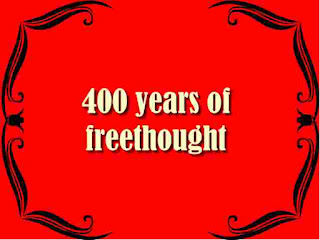 400 years of freethought
