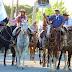 #AtalivaRoca | Se realizó el tradicional desfile gaucho
