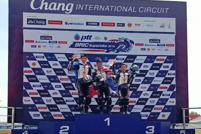 Pembalap Astra Honda Konsisten Podium dan Kibarkan Merah Putih di TTC Seri 3