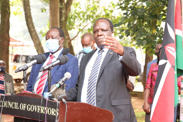 CoG chairperson Wycliffe Oparanya