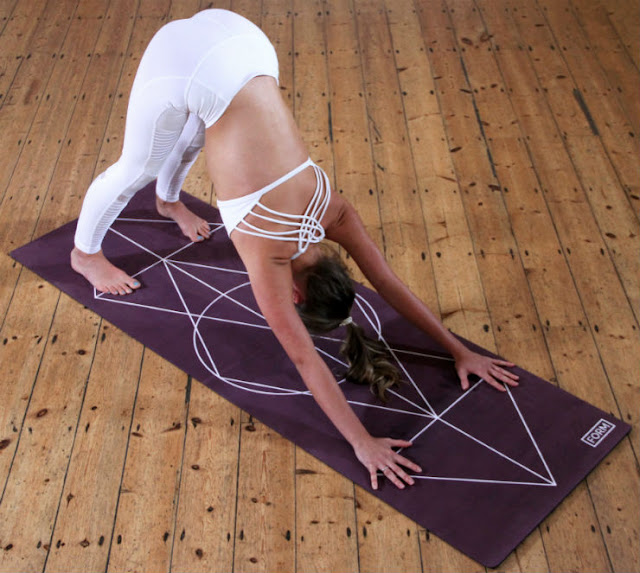 Adho mukha svanasana or Downward Dog - Downward Facing Dog Yoga Pose