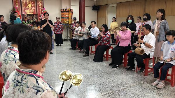 南管孟府郎君春季祭典 27日彰化南北管音樂戲曲館