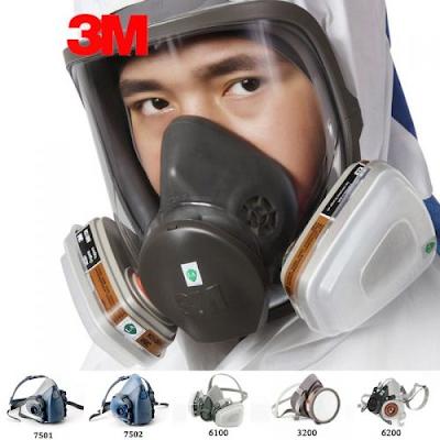 Bảo hộ an toàn lao động, phòng chống độc - Hãy chọn mặt nạ 3M chính hãng!