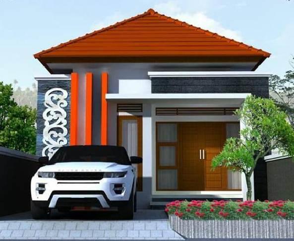 Desain Eksterior Depan Rumah Minimalis Type 30
