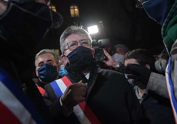 VIDEO - Loi de sécurité globale : Mélenchon et ses cadres quittent la manifestation sous les huées