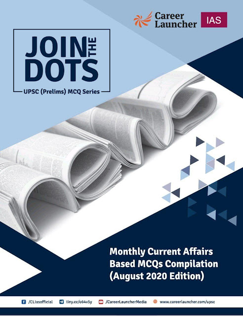 Career Launcher Current Affairs (August 2020) : For UPSC Exam  PDF Book