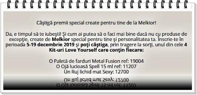 castigatori concurs www.melkior.ro castiga kit-uri love yourself