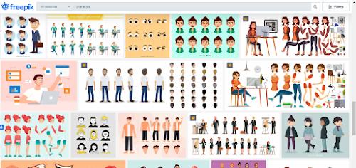 Kumpulan situs download aset gambar yang dibutuhkan illustrator