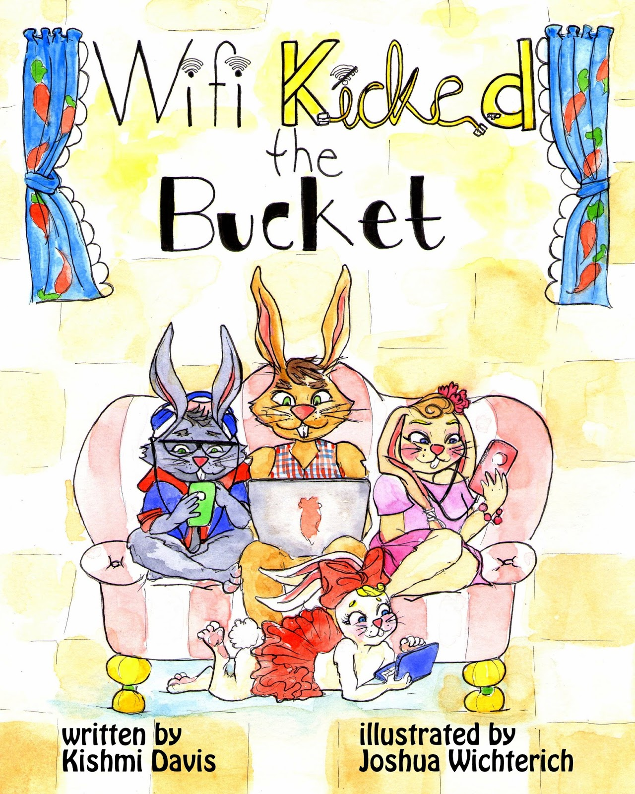 Ms j mentions 2017 my childrens book wi fi kicked the bucket was inspired by my three children in the summer of 2016 the router to our wifi stopped working fandeluxe Images