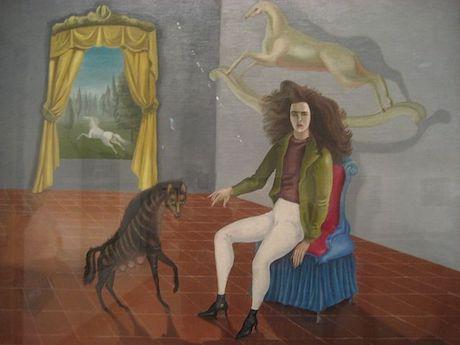 Art Talk - foredrag om kunst. Leonora Carrington: Self-Portrait, ca. 1937