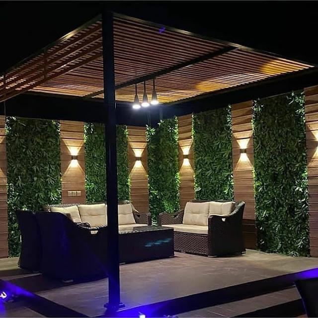 إنشاء المسطحات الخضراء في جدة