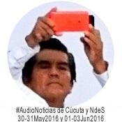 #AudioNoticias de Cúcuta y NdeS 31May2016 y 01-03Jun2016 | Félix Contreras el #ReporteroSoyYo