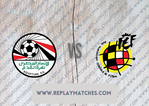 Egypt U23 vs Spain U23 -Highlights 22 July 2021