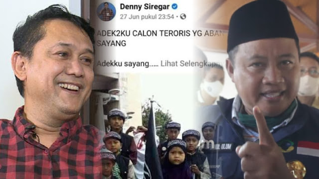Wagub Jabar Dukung Umat Islam Tasikmalaya Laporkan Denny Siregar yang Tuduh Santri Calon Teroris