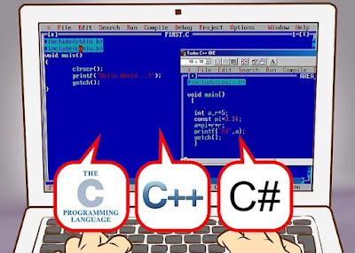 النظر في C ، C ++ ، C # واللغات ذات الصلة