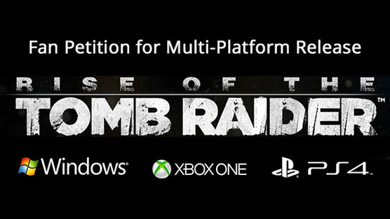 Chcemy Rise of the Tomb Raider na wszystkich platformach!