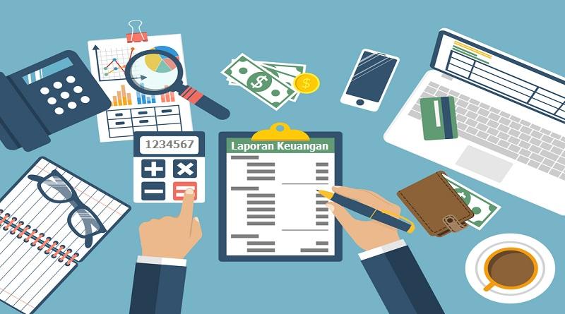 Membuat Laporan Keuangan Toko Online Elfriedwan S E