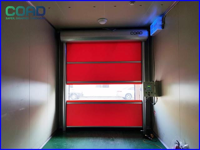 COAD, pintu high speed door, KOREA, INDONESIA, MALAYSIA, JAPAN, VIETNAM, INDUSTRIAL, AUTOMATIC, THAILAND, 高速シートシャッター, Pintu Berkelajuan Tinggi ประตูความเร็วสูง,