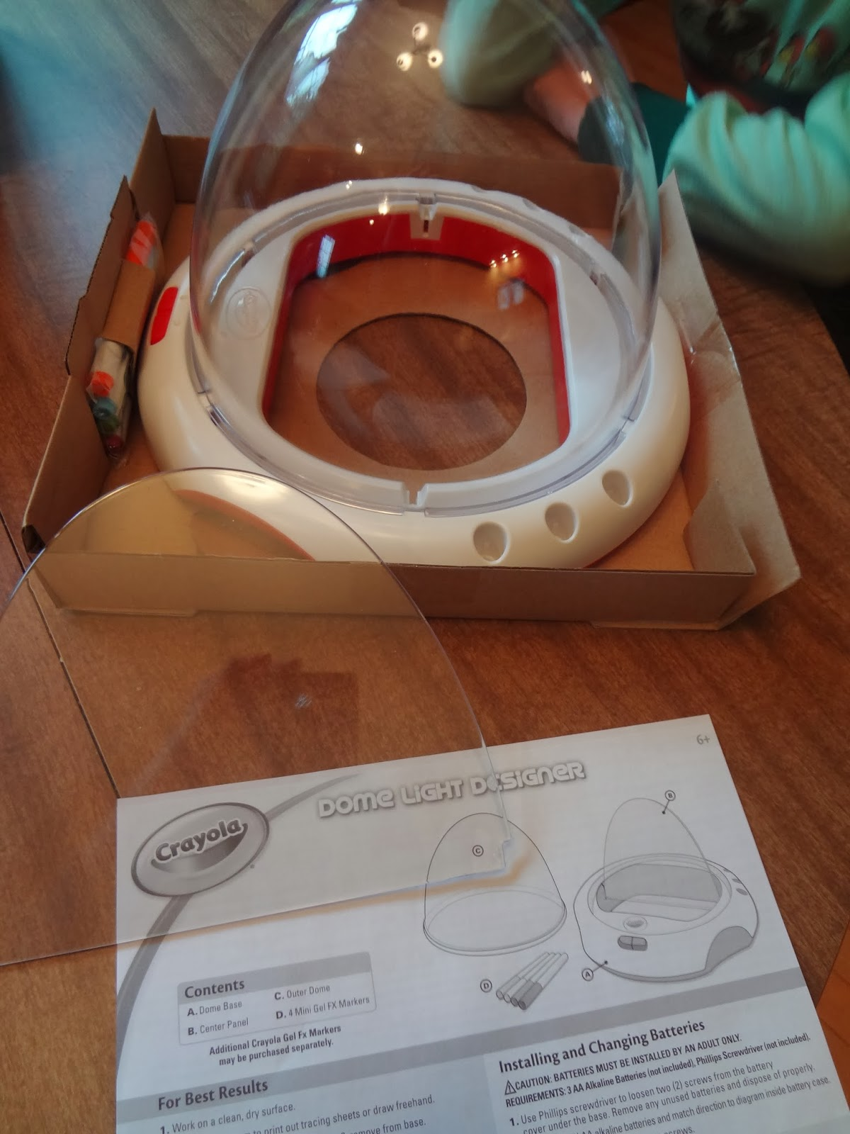 Crayola Dome Light Designer Review Mommy S Block Party