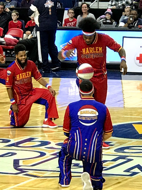 A Night Out with the Harlem Globetrotters