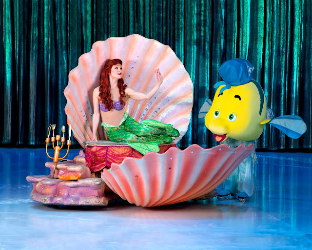 The Little Mermaid at Disney on Ice Passport to Adventure