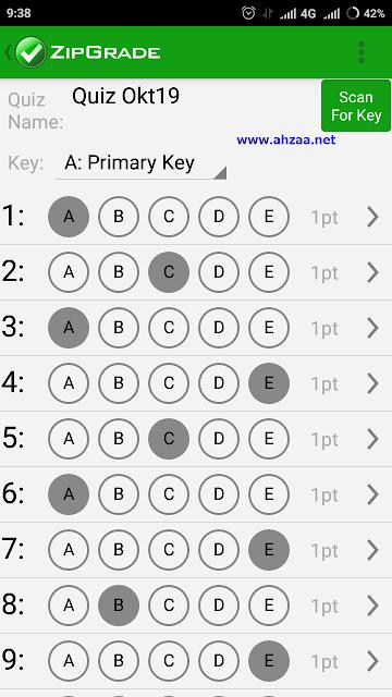 tutorial ZipGrade