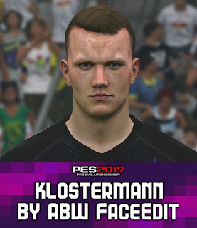 PES 2017 Faces Lukas Klostermann by ABW_FaceEdit
