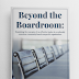 Beyond the Boardroom: Examining the concepts of an effective leader in a culturally conscious community-based organization by Troy Washinton