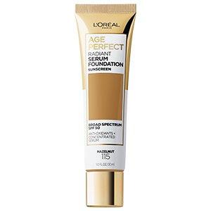 L'oreal Age Perfect Radiant Serum Foundation 115 Hazelnut