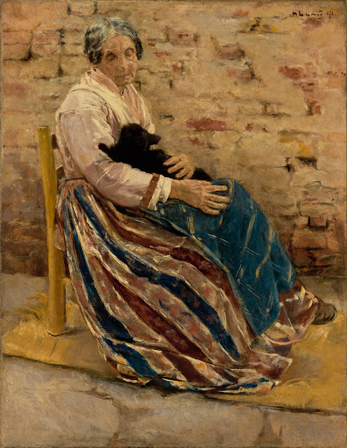 The latest news from Companion Animal Psychology, including this month's pets in art: old woman with cat by Max Liebermann