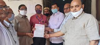 पेंशनरों ने अपनी माँगों का ज्ञापन मुख्यमंत्री को भेजा   #NayaSaberaNetwork