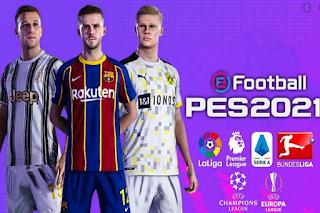 FTS 21 MOD PES 2021 Season 2020 HD
