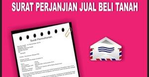Contoh Surat Perjanjian Jual Beli Tanah Terbaru 2018 Contoh Surat