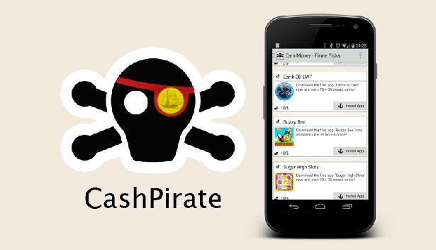 CashPirate Aplicación para ganar dinero