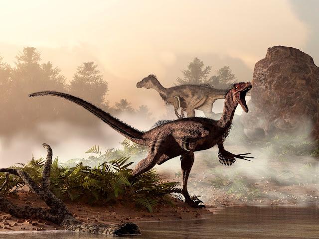 Velociraptor ăn thịt