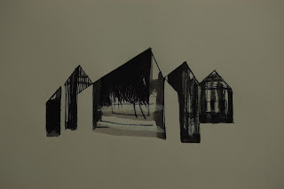 inkylinky house lithograph final drawing