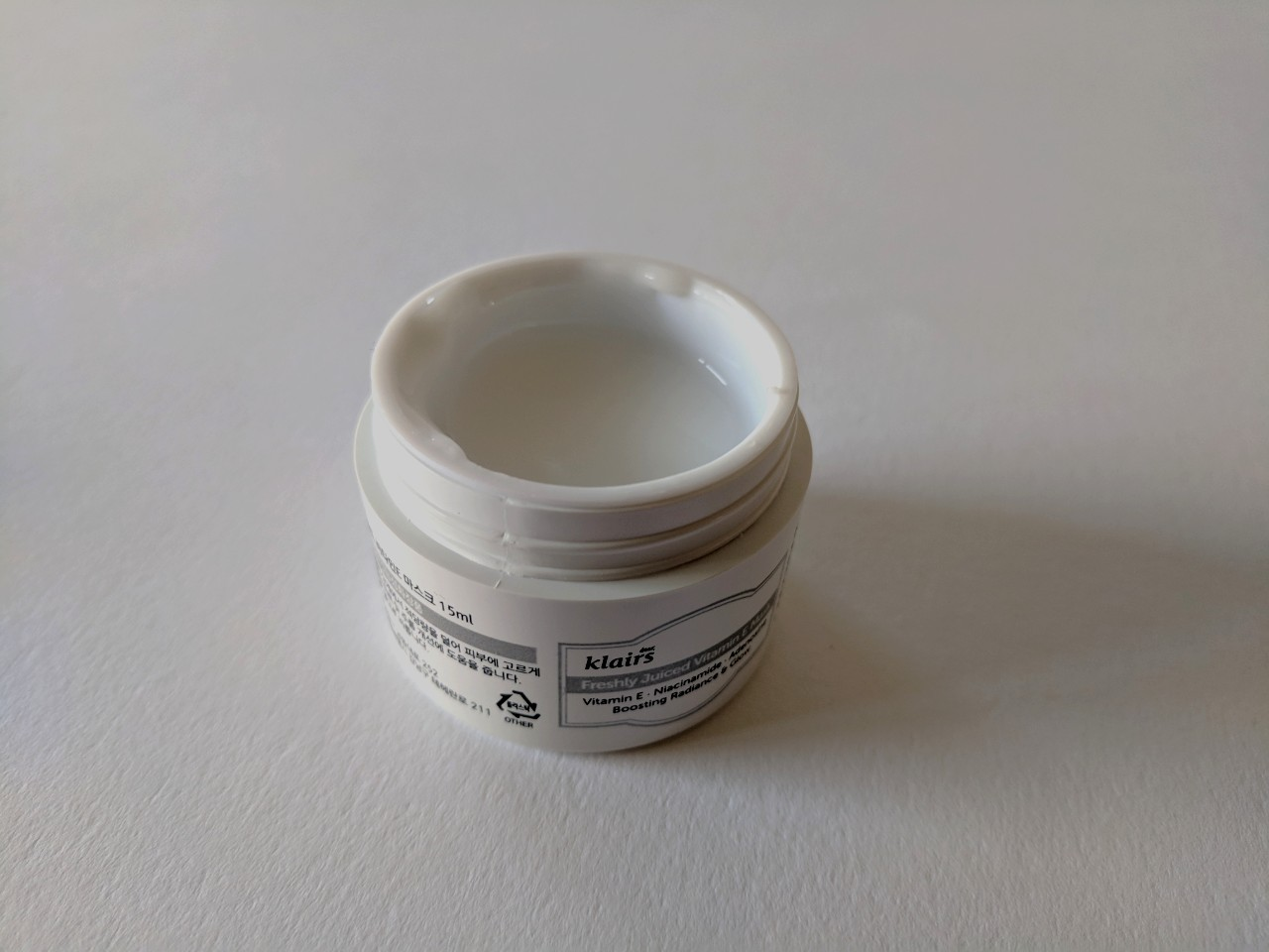 Klairs Freshly Juiced Vitamin E Mask pot