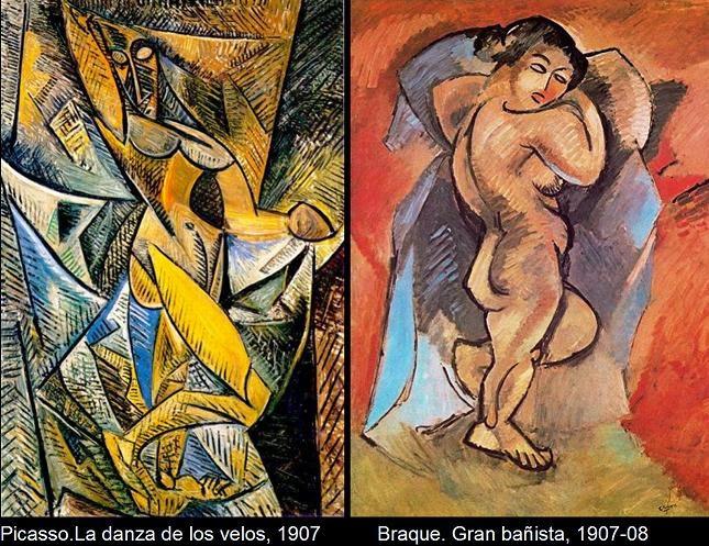 Picasso hombre desnudo y mujer