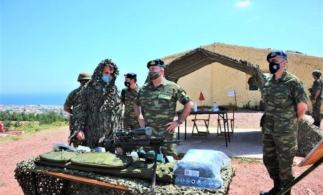 Βελτιωμένα τυφέκια ακριβείας G3 στις μονάδες Πεζικού