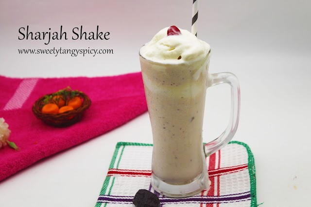 Sharjah Shake Recipe | Sharjah Ice Cream Shake Recipe | Sharjah Milk Shake Recipe