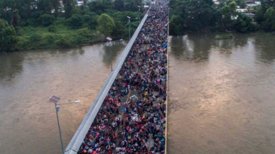 Mexico Says Nearly 3,000 Migrants Have Abandoned The 'Migrant Caravan'--The caravan is now down to around 4,000 migrants.