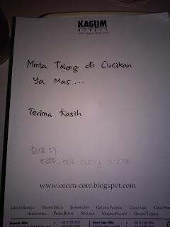 Catatan Hotel Gino Feruci Braga