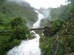 sapa water fall